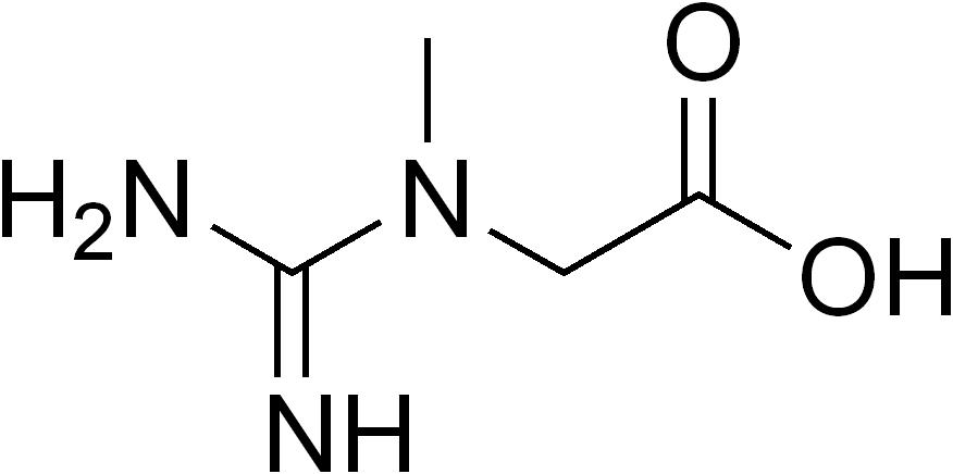 التركيب الكيميائي للكرياتين