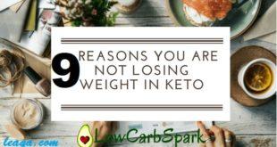 أسباب ثبات الوزن على الكيتو دايت
