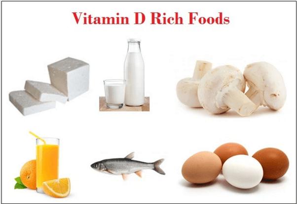 الأسماك الدهنية ومنتجات الألبان والبيض مصادر لفيتامين د