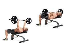 Barbell incline press