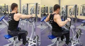 Hammer strength row