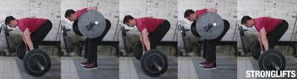 الأداء الصحيح لتمرين الظهر بالبار في وضع الوقوف