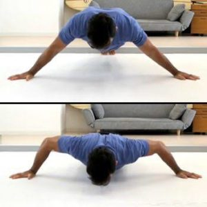 Pushup narrow