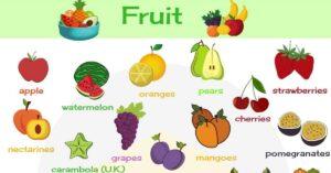 احرص على تناول الفاكهة أثناء مرحلة التخسيس